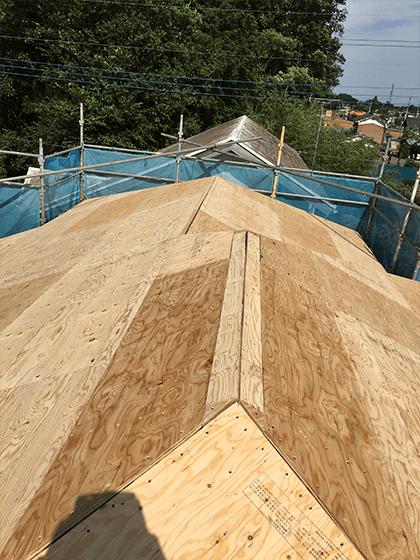葺き替え工事の施工事例
